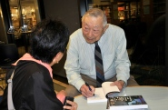 Photo: Francis da Silva Hiroshi Kashiwagi shares some of his World War II experiences at a December lecture.