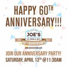 joes ice cream graphic