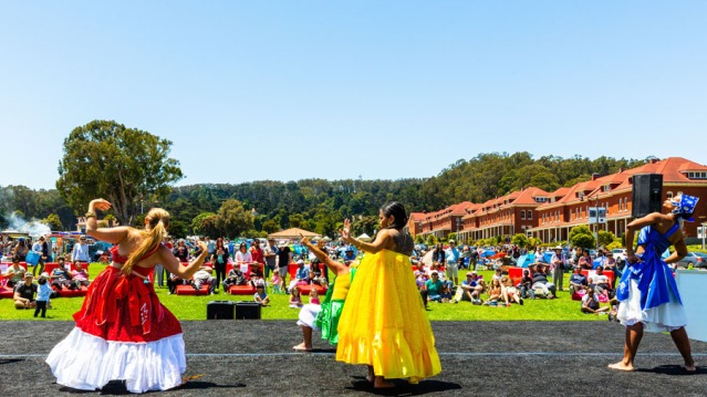 Alafia Dance Ensemble at Presidio Picnic, June 24, 2018