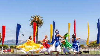 Alafia Dance Ensemble at Presidio Picnic, June 24, 2018