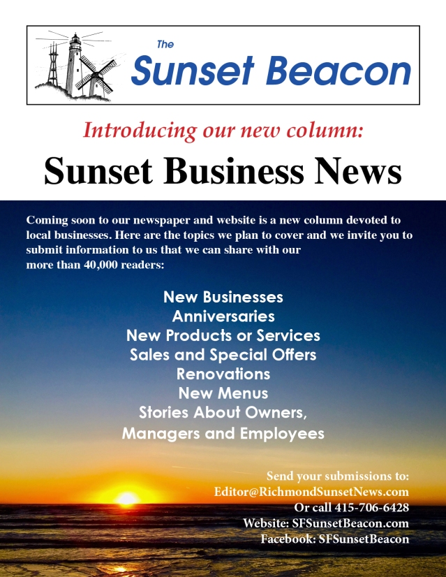 SB Sunset Business News announce