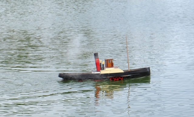 Model Steam Boat photo by Larry Cuneo