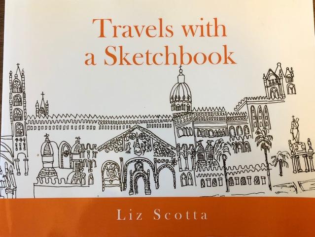 Scotta-Liz travels w sketchbook
