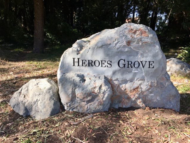 Heroes Grove sign