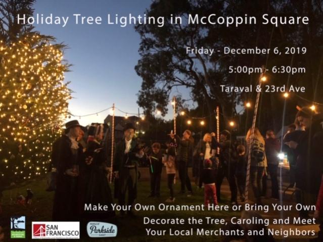 Taraval Tree Lighting 2019