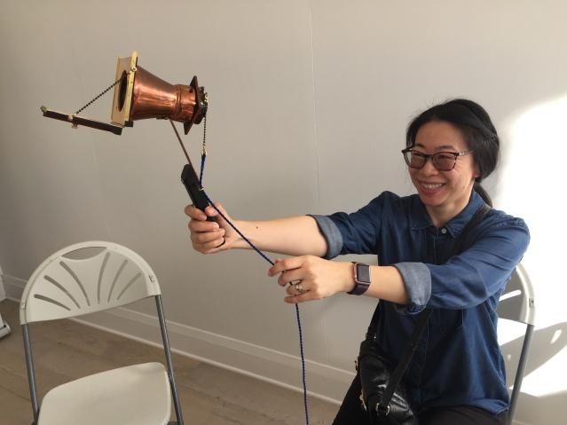 vintage selfie camera rozie wong
