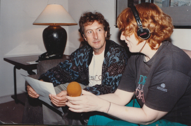 Monica and Eric Idle