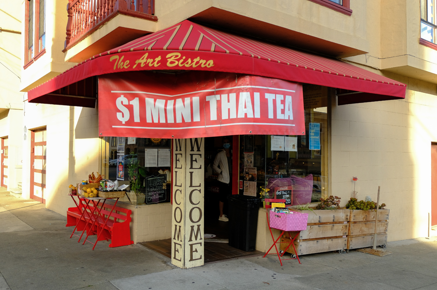 The Art Bistro Entrance_